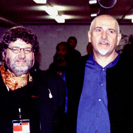 Peter Gabriel et moi-même