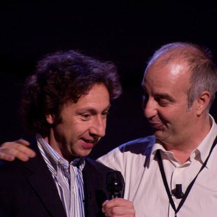 Stéphane Berne et Patrice Thibaud