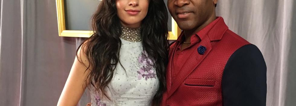 Aaron Bing and Camila Cabello