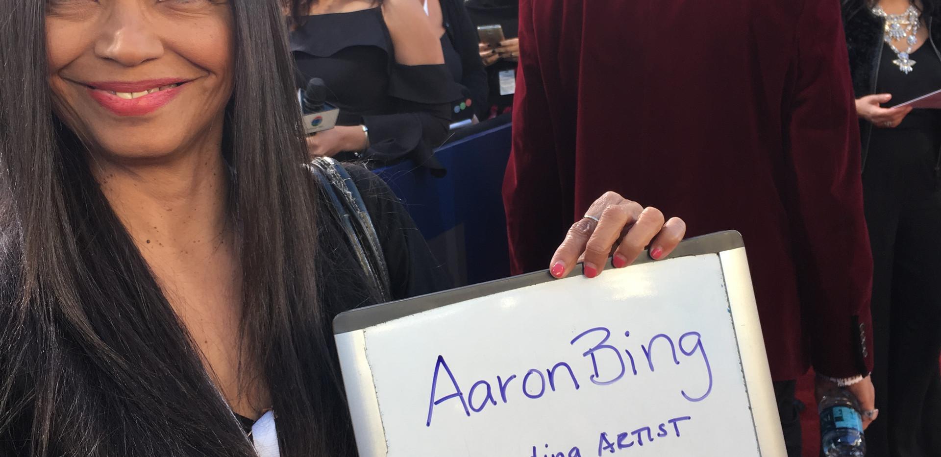 Aaron Bing Latin Grammys