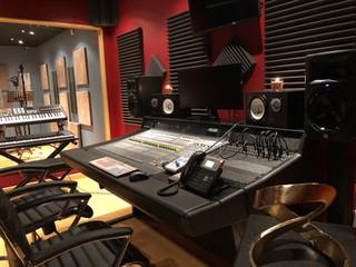 Century Studios Control Room