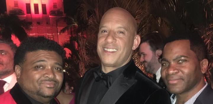 Aaron Bing & Vin Diesel