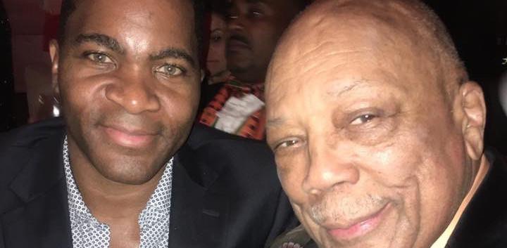 Aaron Bing and Quincy Jones