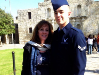 Proud Mom of an Airman...