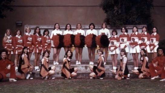 SPHS Sophmore Cheerleader