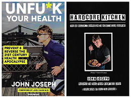 News: UnFu*k Your Health & Hardcore Kitchen Book Release