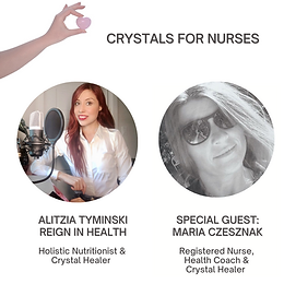 Interview with Maria Czesznak: Crystals For Nurses