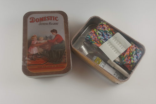 Sewing Kit in Tin