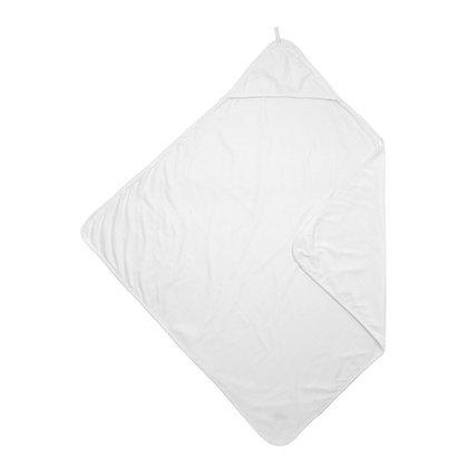 Hooded Bath Towel - Soft White