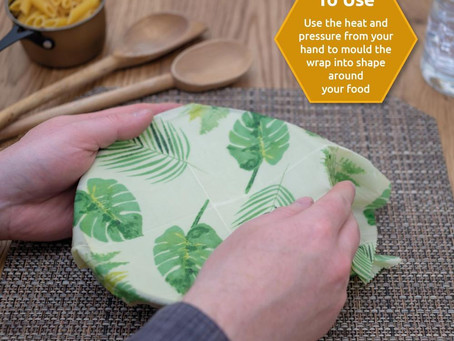 Beeswax Food Wraps - The Uses