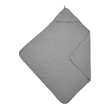 Hooded Bath Towel - Grey