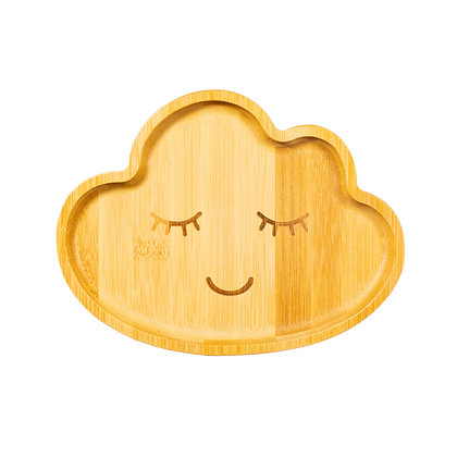 Bamboo Cloud Plate