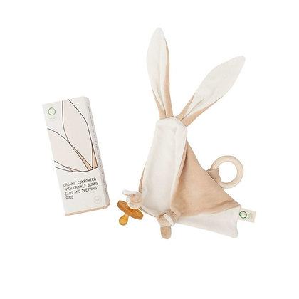 Organic Comforter with Crinkle Bunny Ears
