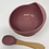Thumbnail: Silicone Suction Bowl and Spoon Set