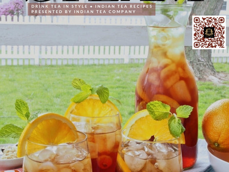 Orange Brown Sugar Sweet Tea