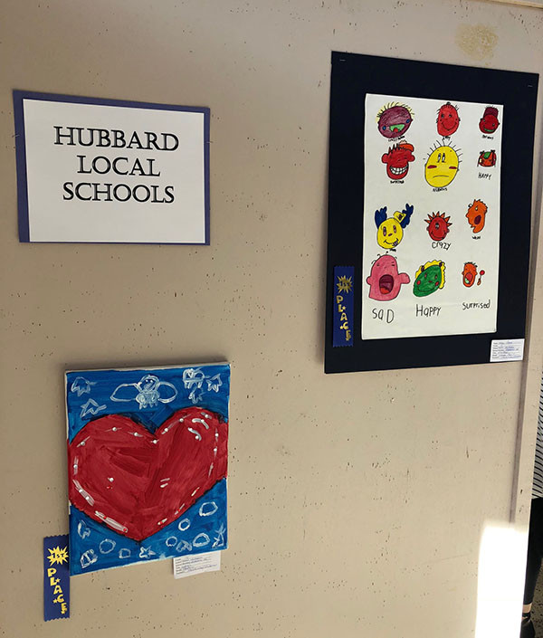 Picture of hubbard local schools art exibit