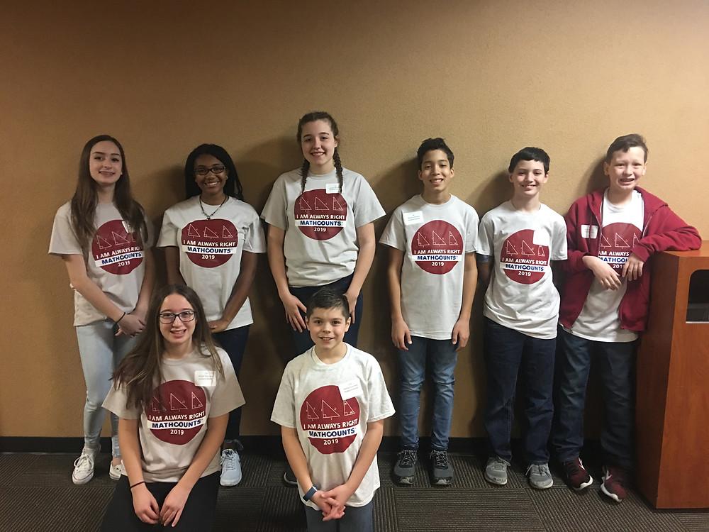 Hubbard Math Counts Team