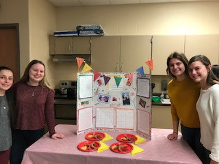 Hubbard Students at the Spanish Cuisine Cook-Off