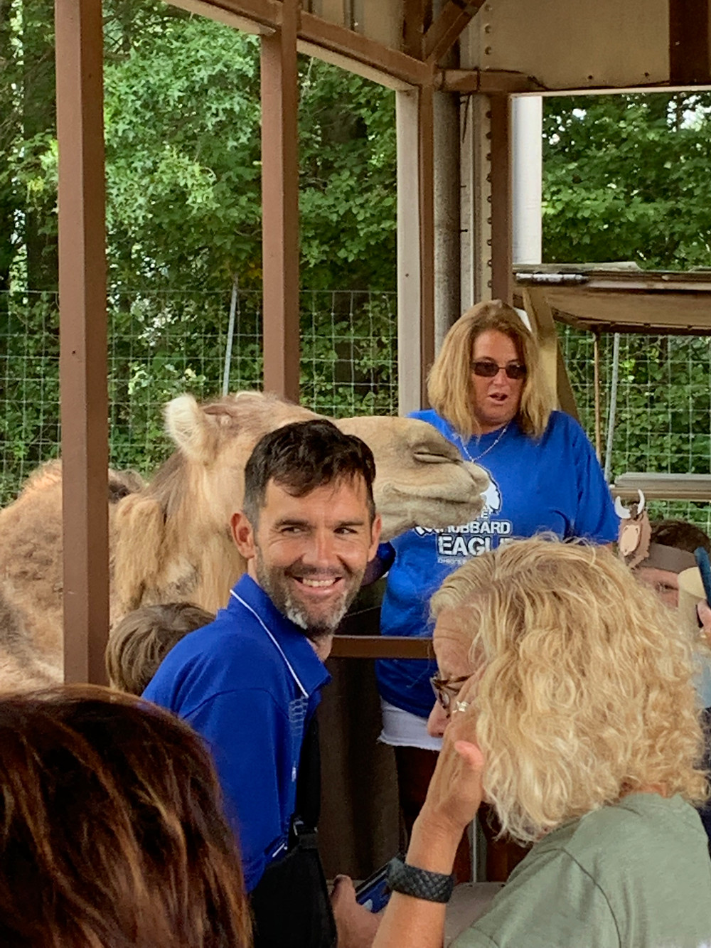 Chaperones with animals