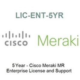 LIC-ENT-5YR Meraki License for MR Access Point - 5Year