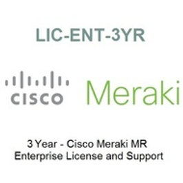 LIC-ENT-3YRS Meraki License for MR Access Point - 3Year