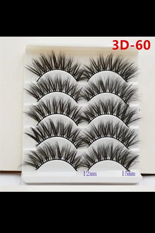 Pestañas 3D-60