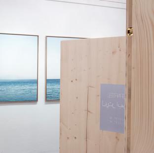 installation view Galerie am Polylog 08