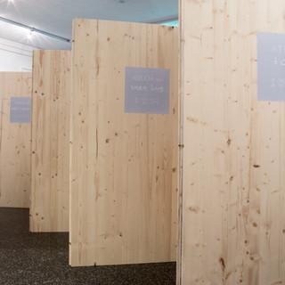 installation view Galerie am Polylog 05