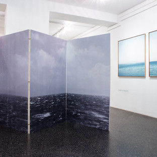 installation view Galerie am Polylog 09