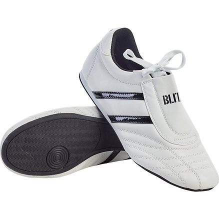Blitz Adult Martial Arts Training Shoes - White/Black