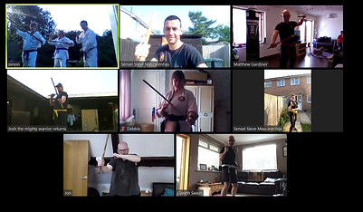 ONLINE ADULT WEAPONS COURSE 25TH APRIL 2