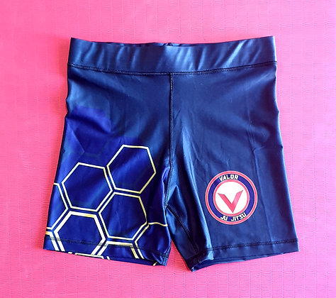 Adult Valor Ju Jitsu Vale Tudo Shorts (Midnight Blue Special Edition)