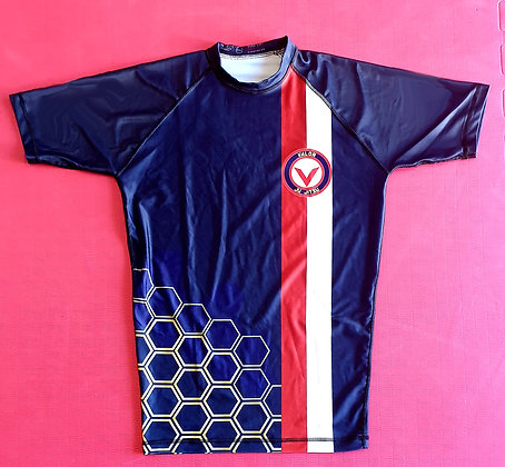 Adult Valor Ju Jitsu Rashguard (Midnight Blue Special Edition - Unisex)