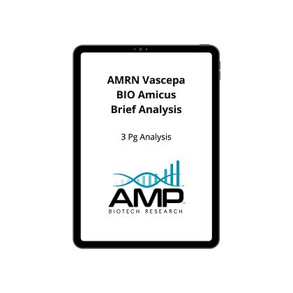 AMRN Vascepa BIO Amicus Briefing Analysis