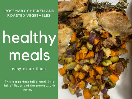 Rosemary Chicken and Vegetables...Yummy