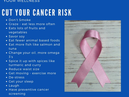 You Have Control Over Your Cancer Risk