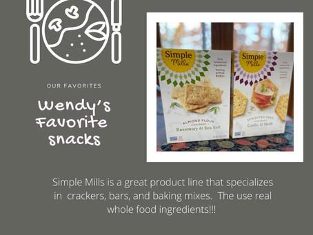 Favorites - More Snacks!