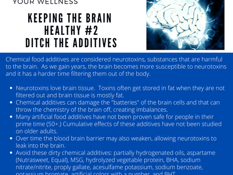 Save the Brain and Eat Real Food
