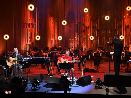 The Perfect Match - Weller and Buckley reign Symphony Supreme at Barbican