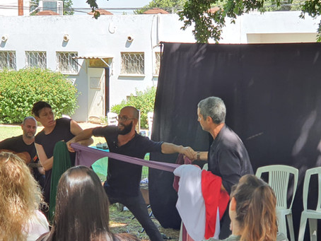 ליווי צוותים חינוכיים דרך תיאטרון ואלתור בשיתוף מכון חינוך דרך כפר