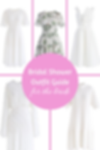 Find Your Bridal Shower Outfit