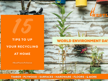 15 Tips to up your Recycling at Home & Office.