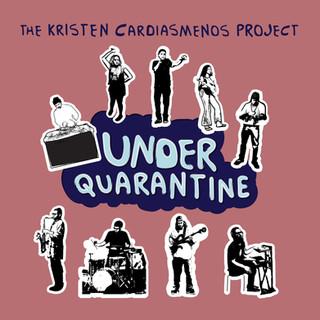 """Under Quarantine"" EP (2021) front cover art by Olga Kryvokon"