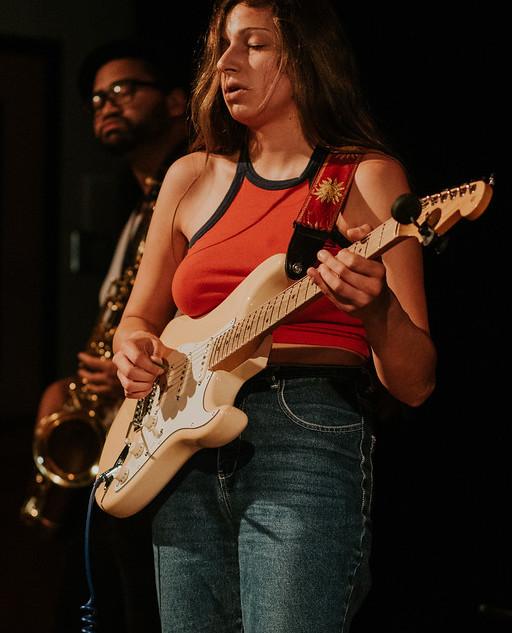 The Kristen Cardiasmenos Project performing @ Fego Navarro's Album Release show @ SF State, Jack Adams Hall