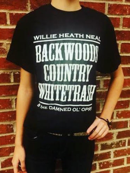 Backwoods Country Whitetrash shirt
