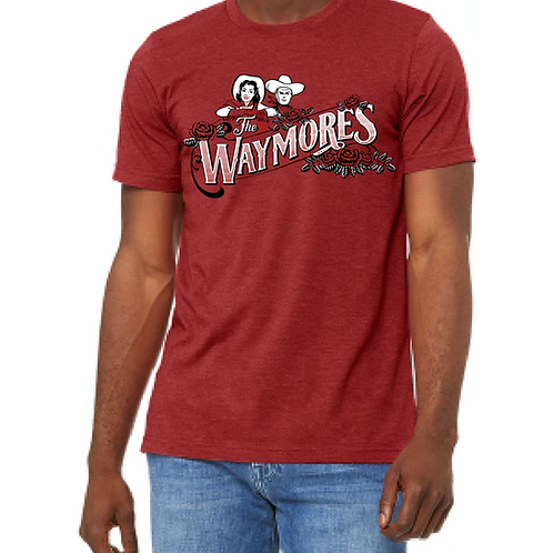 CowCouple Tee in Red