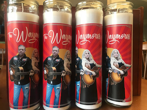 UNSCENTED WAYMORES PRAYER CANDLE