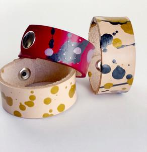 Splatter Paint Cuffs