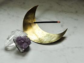 brass incense holder