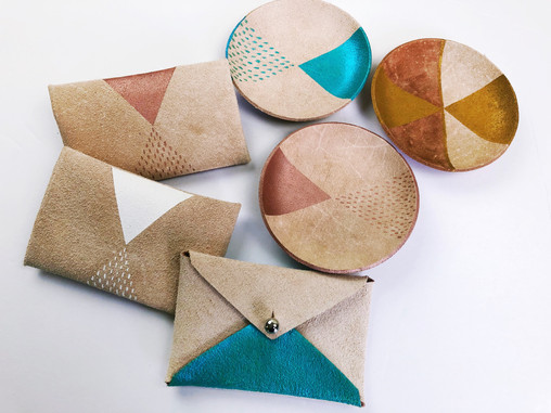 Card wallets and Ring dishes